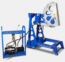 TubeShark Pipe & Tube Bender with Commercial Electric/Hydraulic Power Unit TSA-2-1-0003