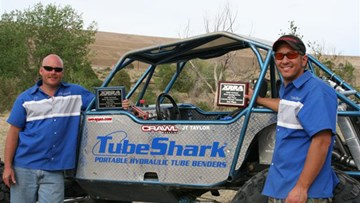 TubeShark XRRA Off Road Racing JT Taylor Winners
