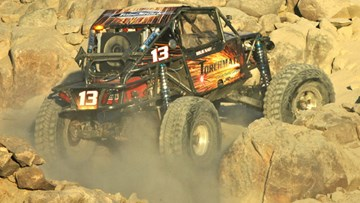 Ultra4 Rock Crawler KOH 2012 JT Taylor
