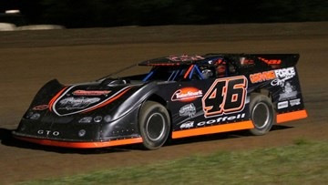 Late Model Racecar Darren Coffell 2012