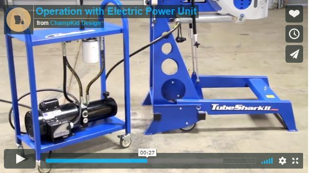 TubeShark Tutorials | With Electric Power Unit